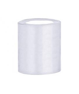 Ruban en satin blanc XXL (100 mm x 25 m)