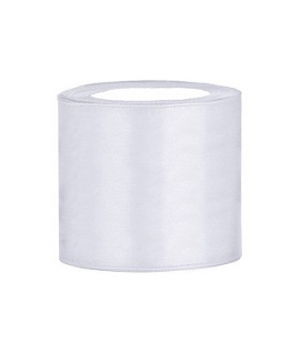 Ruban en satin blanc extra large (75 mm x 25 m)