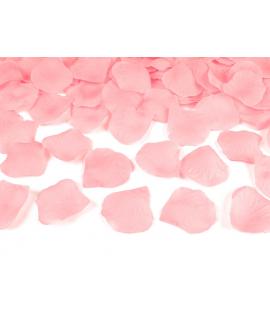100 x pétales de roses rose clair