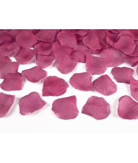 100 x pétales de roses rose