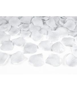 100 x Pétale de rose blanc