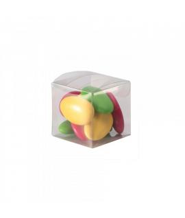 10 x Boite à dragées transparentes cube