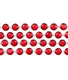 Guirlande de cristaux bordeaux de 1 m