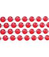 Guirlande de cristaux rouge de 1 m