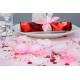 Bougie flottante couleur rose