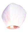 Lampe à voeux coeur, lanterne volante en coeur blanche