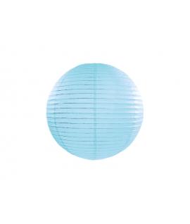 Lampion papier 20 cm Bleu ciel