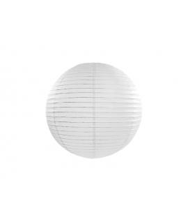 Lampion papier 35 cm blanc