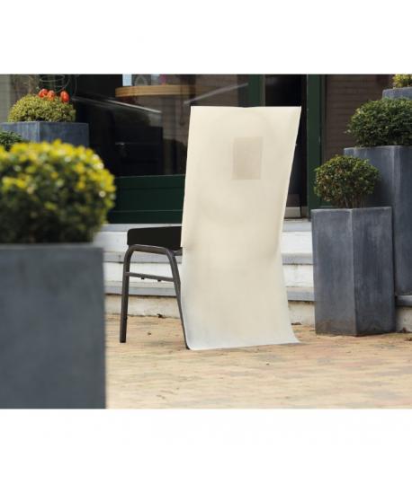 Habit De Chaise Papier Intisse Ecru 50 X 100 Cm Avec Poche
