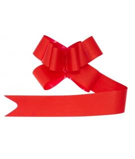 10 x Gros noeud rouge de 5 x 100cm