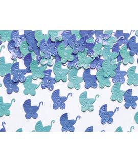 Sweet confetti 15g poucette bébé bleu