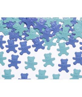 Sweet confetti 15g ourson bleu