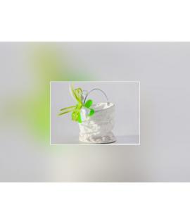 Lampion blanc à accrocher (8 x 9 cm)