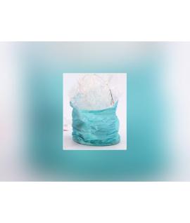 Lampion turquoise à accrocher (8 x 9 cm)