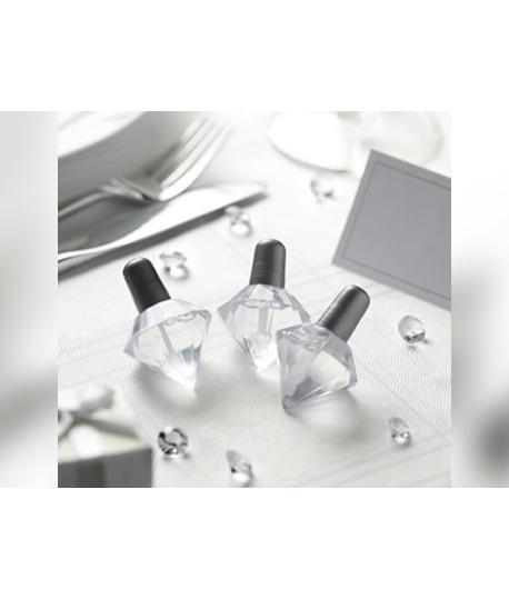 Bulles à savon diamant couleur argent