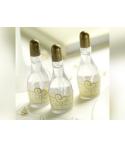 Bulles à savon «bouteille de champagne» couleur or