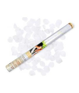 Canon à pétales de rose blanc (format : 60 cm)