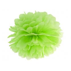 Pompon papier vert pomme 25 cm