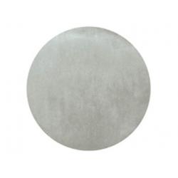 50 x Set de table tissu rond mat gris
