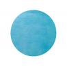 50 x Set de table tissu rond mat turquoise