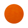 50 x Set de table tissu rond mat orange