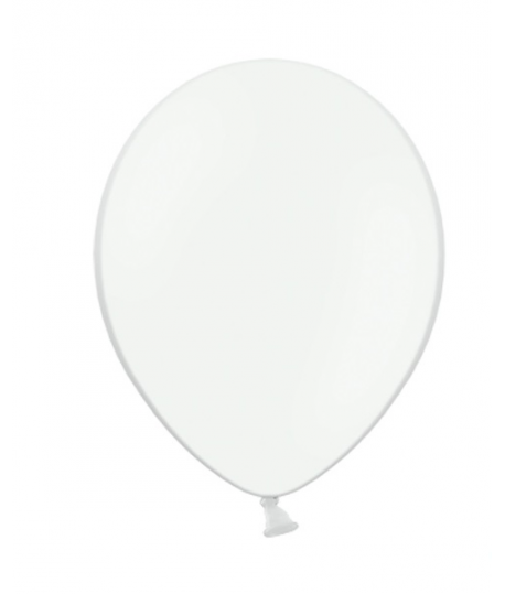 10x Ballon à gonfler blanc