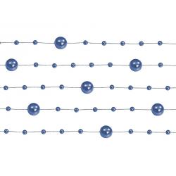 5 x Guirlande de perle Or Pastel 1,3m