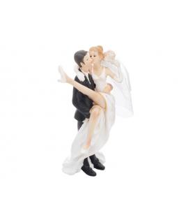 """Figurine pour gâteau """"le marié qui porte la mariée"""""""