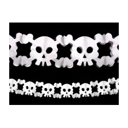 "Guirlande halloween ""crâne"" 3 M"
