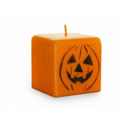 Bougie halloween - citrouille