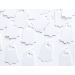 Confettis fantôme blanc x 20