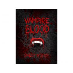 """10 x étiquette Label bouteille """"Vampire blood"""""""
