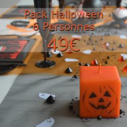 "Pack Halloween ""vampires"" 6 personnes"