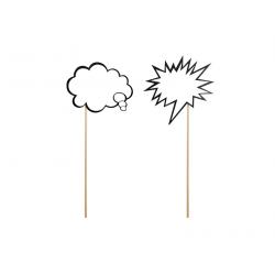 2 x nuage à écrire