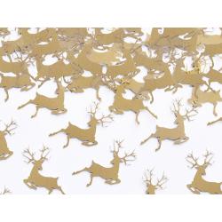 """Confettis Noël """"Cerf doré"""""""