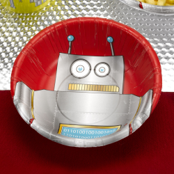 8 x Robot Heroes - Bowl