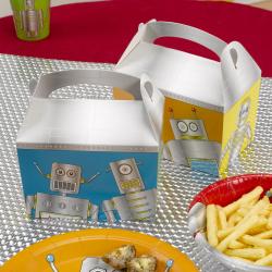 "8 x Lunch Box ""robot"""