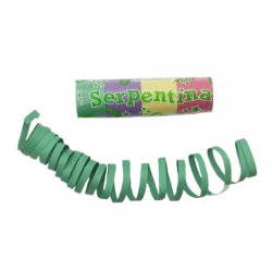 6x Sifflet serpentin multicolore