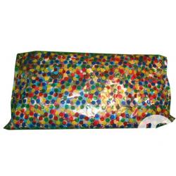 Sac de confettis multicolores 100grs