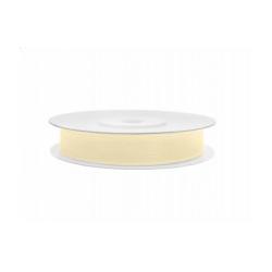 Ruban soie crème clair fin