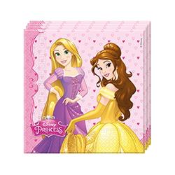 20x Serviettes Princess Dreaming (33x33cm)