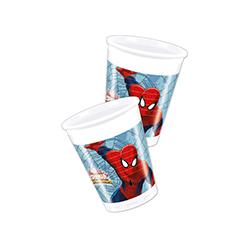 "8 x gobelet ""Spider Man"""