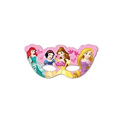 6x Masques en papier Princess Dreaming