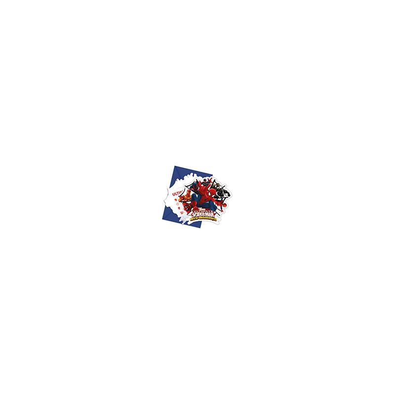 6 X Cartons Et Enveloppes Dinvitation Anniversaire Spider Man