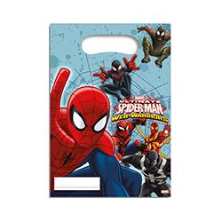 """6 x Sachet """"Spider Man"""""""