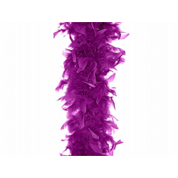 boa plume violet