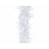 boa plume blanc