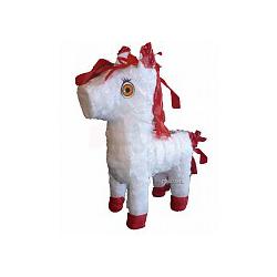 Piñata cheval blanc 28x12cm