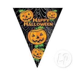 Fanion Happy Halloween de 10 drapeaux 5m