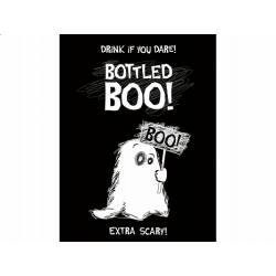 """10 x étiquette Label bouteille """"Boo"""" fantôme blanc"""